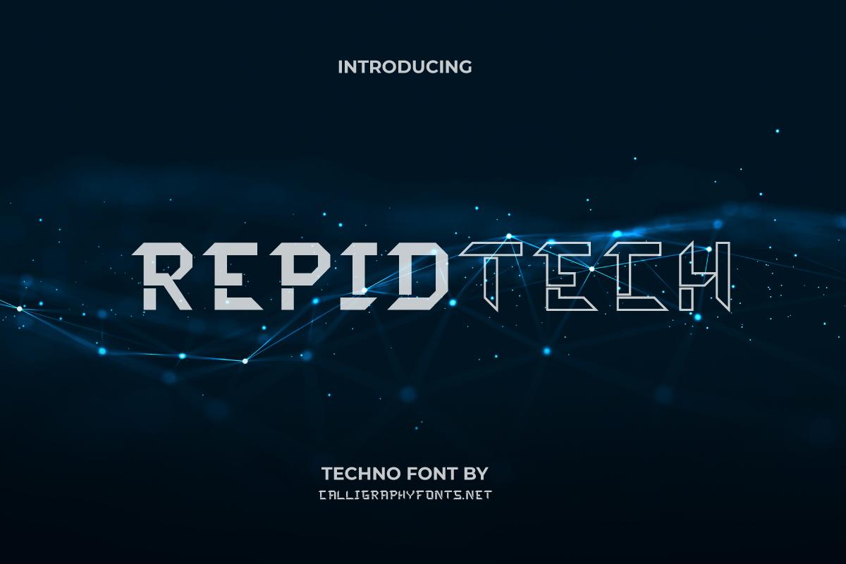 Rapidtech Display Font
