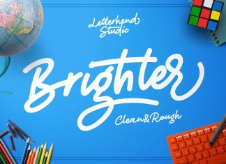 Brighter Handwritten Font