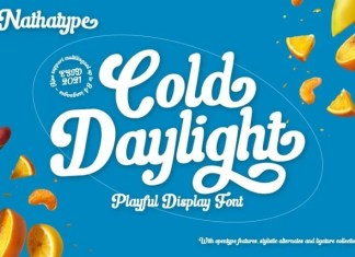 Cold Daylight Script Font