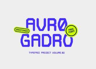 Avro Gadro Font