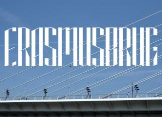 Erasmusbrug25 Display Font