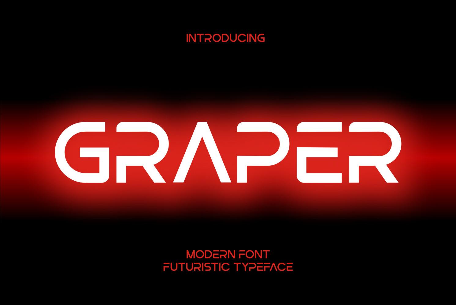 Graper Display Font