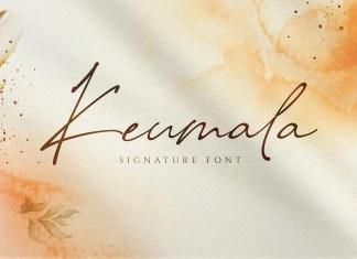 Keumala Handwritten Font