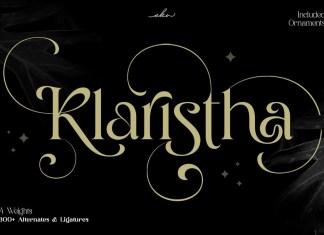 Klaristha Serif Font