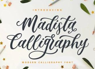 Madista Calligraphy Font