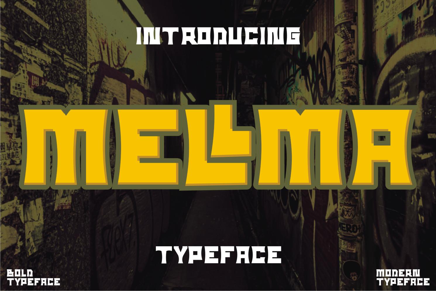 Mellma Display Font