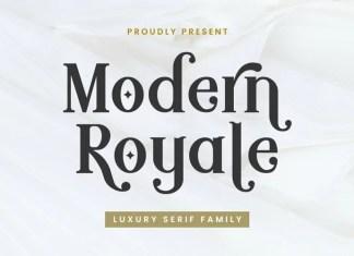 Modern Royale Serif Font