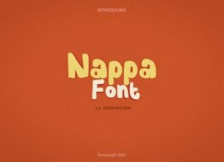 Nappa Display Font