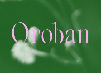 Oroban Serif Font