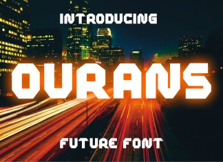 Ourans Display Font