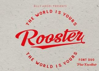 Rooster Bold Script Font
