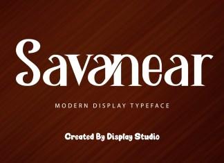 Savanear Serif Font
