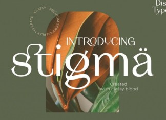Stigma Sans Serif Font