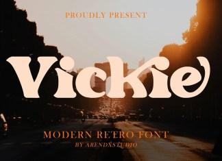 Vickie serif Font