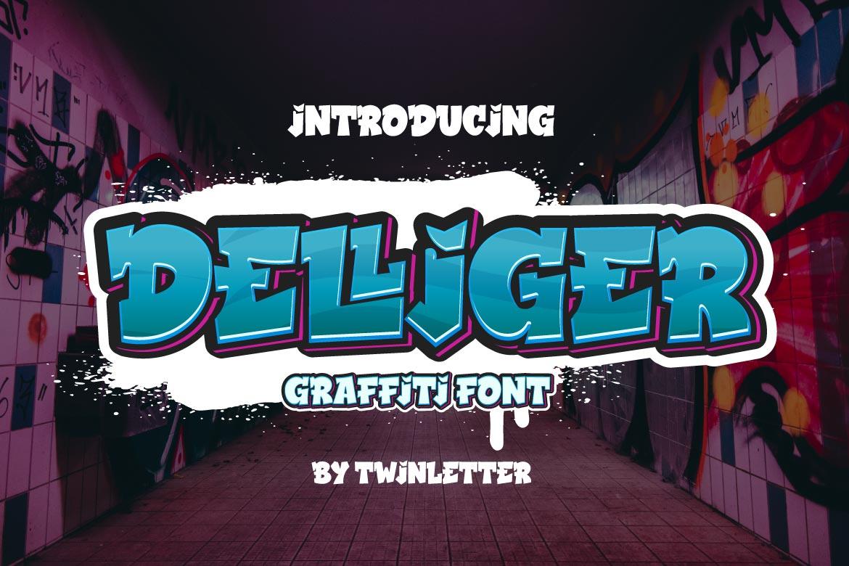 Delliger Display Font