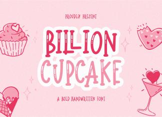 Billion Cupcake Display Font