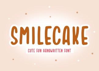 Smilecake Display Font