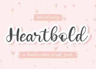 Heartbold Script Font