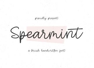 Spearmint Handwritten Font