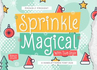 Sprinkle Magical Font