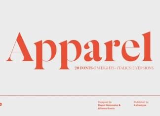 Apparel Serif Font