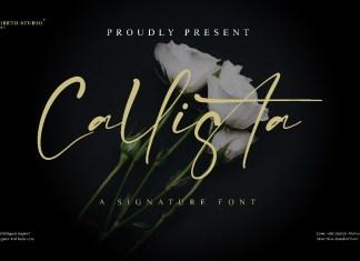 Callista Script Font