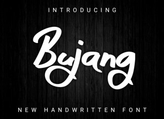 Bujang Brush Font