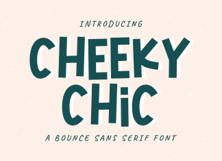 Cheeky Chic Font