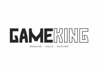 Gameking Display Font