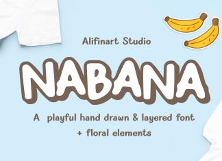 Nabana Display Font