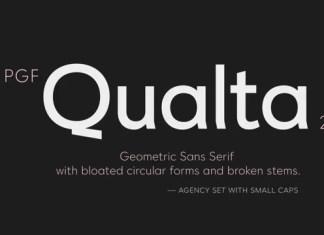 PGF Qualta Sans Serif Font