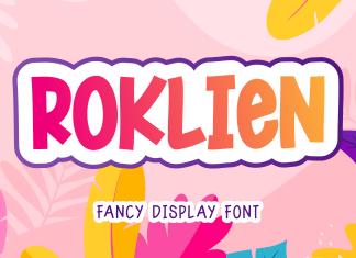 Roklies Display Font