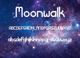 Moonwalk Sans Serif Font
