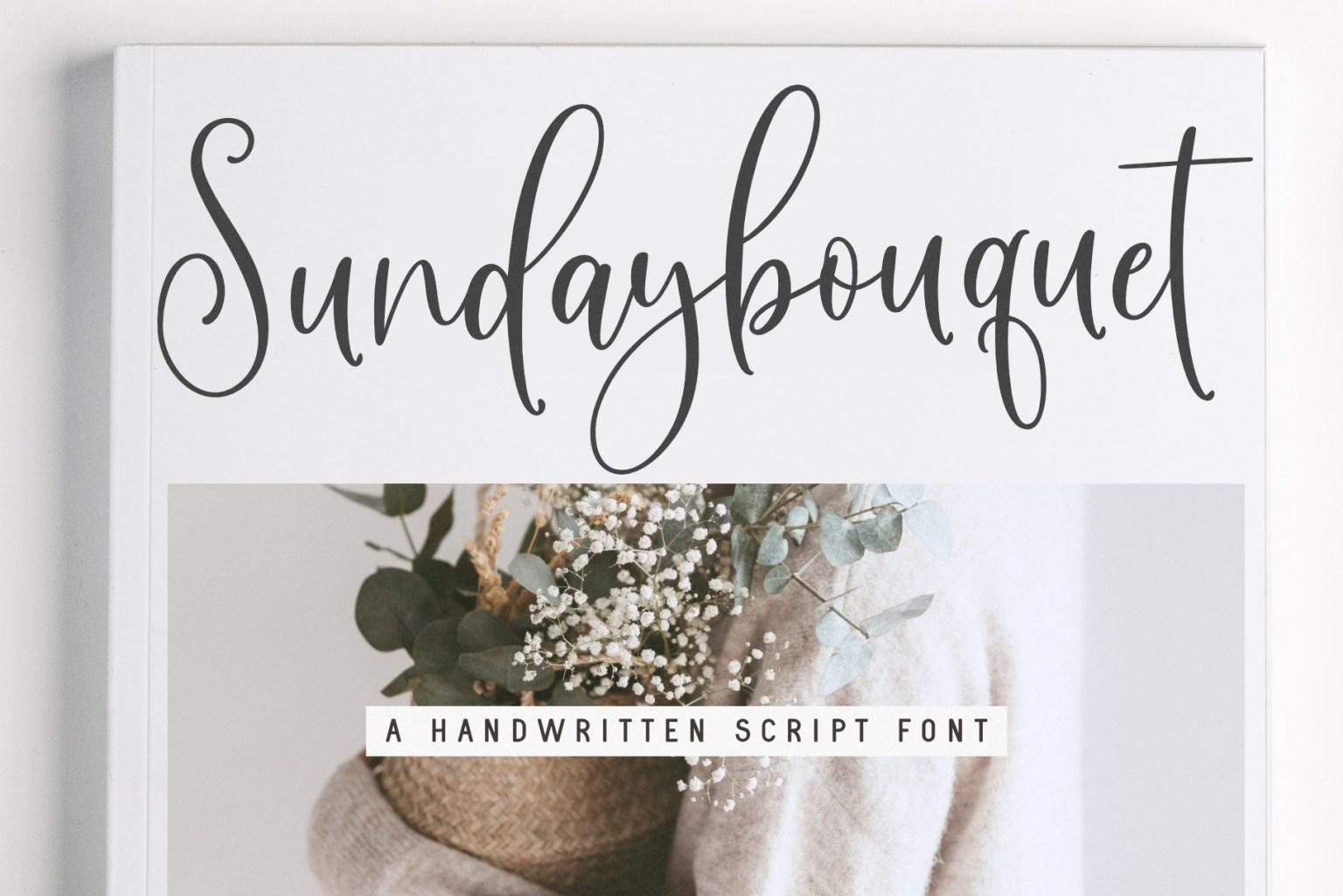 Sunday Bouquet Font