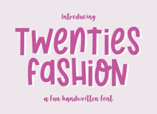 Twenties Fashion Font