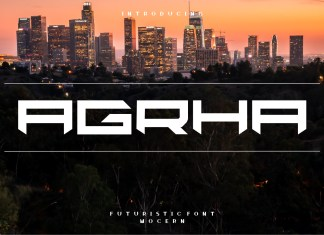 Agrha Font