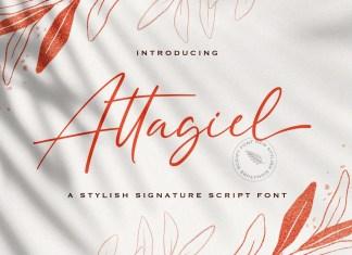 Attagiel Handwritten Font
