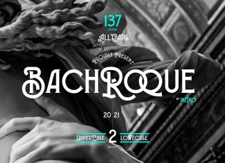 Bachroque Display Font