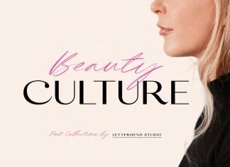 Beauty Culture Sans Serif Font