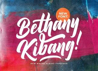 Bethany Kibang Script Font