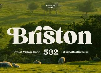 Briston Serif Font