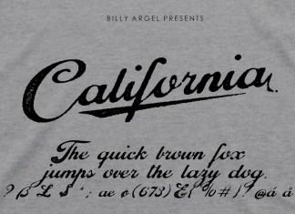 California Script Typeface