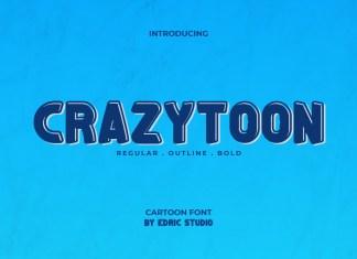 Crazytoon Display Font