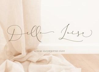 Della Loisa Script Font