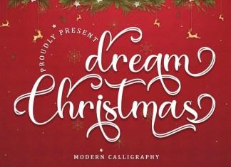 Dream Christmas Script Font