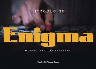 Enigma Display Font