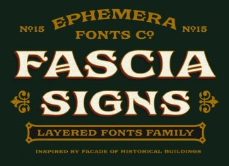 Ephemera Fascia Font