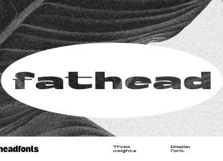 Fathead Sans Serif Font