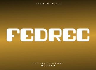 Fedrec Display Font