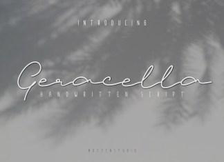 Geracella Script Font